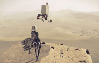 First Nier: Reincarnation Gameplay Shows Off Tranquil Ruins