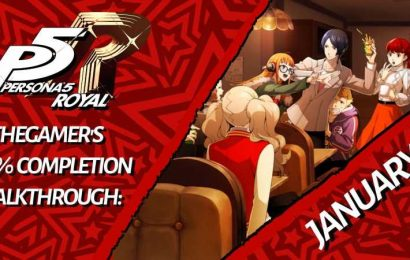 TheGamer's Persona 5 Royal 100% Completion Walkthrough: January – February