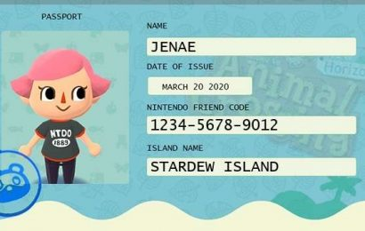 Free Passport Creator Lets You Show Your Animal Crossing: New Horizons Friend Code