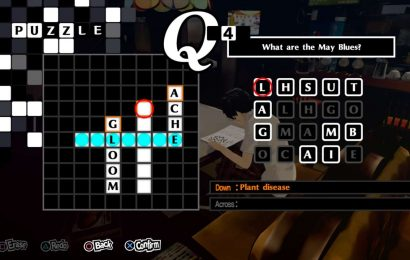 Persona 5 Royal Crossword Puzzle Answers – All 35 Solutions