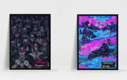 Look At These Stunning Cyberpunk 2077 Posters