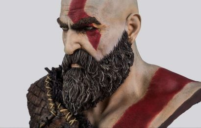God Of War's Second Anniversary Brings A Wild New Kratos Bust