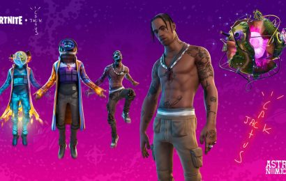 Fortnite Travis Scott Astro Heads: Where To Bounce Off Giant Astro Heads