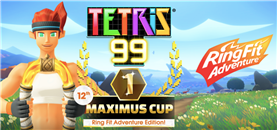 Tetris 99's Ring Fit Crossover Event Now Live