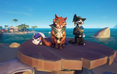 Sea Of Thieves Ships Of Fortune Update Is The Cat Update We've Been Waiting For