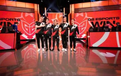 G2 outclass Fnatic in blitzkrieg final, claim seventh LEC title
