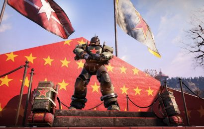 Fallout 76 fans are using shop cosmetics to go full communist