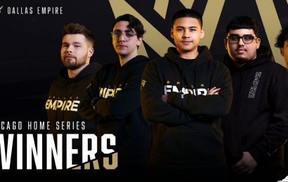 Dallas Empire Become First Team To Win Two CDL Home Series Championships