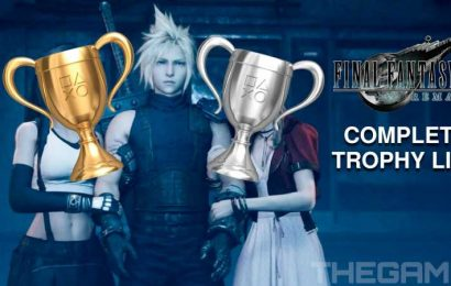 Final Fantasy VII Remake: The Complete Trophy List