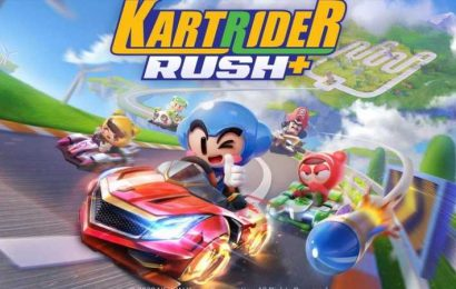 Mario Kart Tour Competitor, Kartrider Rush+, Opens Pre-Registration