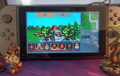 Retro Dungeon RPG Legends of Amberland: The Forgotten Crown Coming to Switch eShop This Month