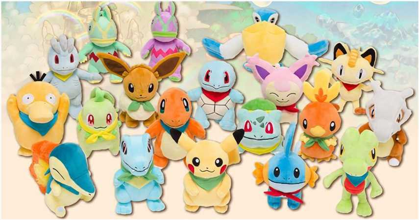 Check Out These Adorable Pokémon Mystery Dungeon: Rescue Team DX Plushies