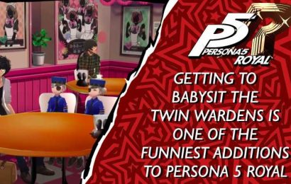 Getting To Babysit The Twin Wardens Is One Of The Funniest Additions To Persona 5 Royal