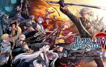 Trails Of Cold Steel IV Is Heading West This Fall