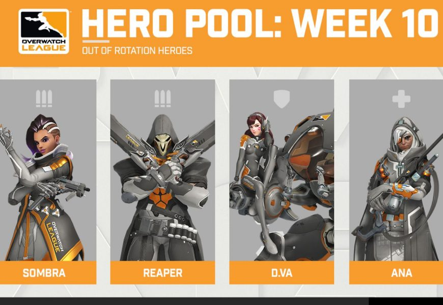 D.Va Leads Way In Overwatch League Week 10 Hero Pool
