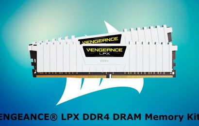 Corsair VENGEANCE LPX DDR4 DRAM Is High Performance With No Fuss
