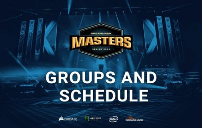 DreamHack Masters Spring groups and brackets released