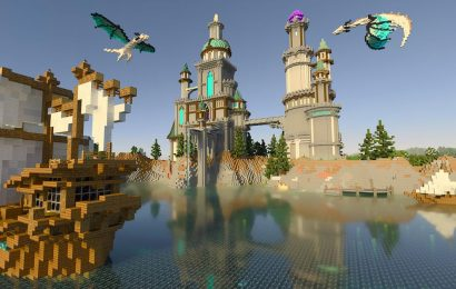Minecraft with ray-traced graphics playable this week