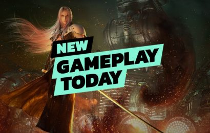 New Gameplay Today — Final Fantasy VII Remake