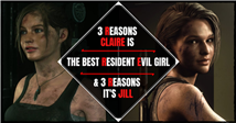 3 Reasons Claire Is The Best Resident Evil Girl (And 3 Reasons It's Jill)