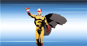 Apparently One Punch Man Plays Pokémon (And Sucks At It)