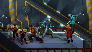 Streets of Rage 4 includes retro music and character art