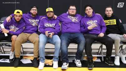 How Lakers Gaming Practice and Maintain Morale During COVID-19 Lockdown