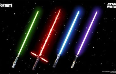 Fortnite Lightsabers are back: Here's how long Star Wars lightsabers will be in Fortnite