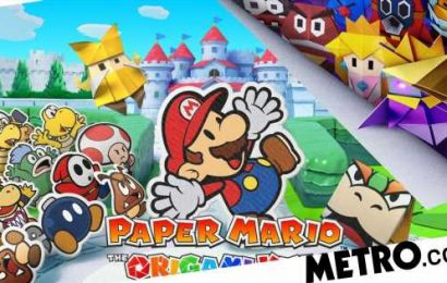 Paper Mario: The Origami King coming to Nintendo Switch this July