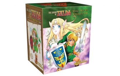 This Legend Of Zelda Manga Box Set Is Steeply Discounted At Amazon