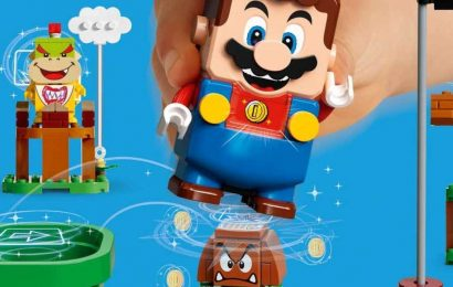 Super Mario Lego Set Pre-Orders Are Back In Stock
