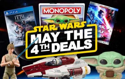 Best May The 4th Deals And Merch Reveals For Star Wars Day 2020