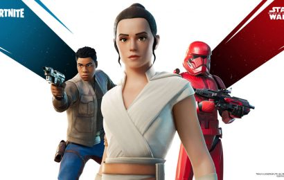 Star Wars Returns To Fortnite, But Not For Long
