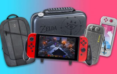 Best Nintendo Switch And Switch Lite Case, Grip, And Carrying Bag