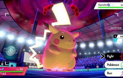 New Pokemon Sword & Shield Event Gives Everyone A Chance To Catch Fat Pikachu