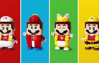 Lego Unveils Super Mario Power-Up Packs That Change Mario's Look