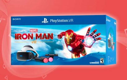 Iron Man PSVR Bundle Announced–Includes Everything You Need To Play