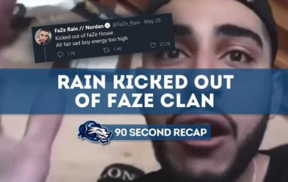 Daily News Recap: Rain kicked out of FaZe Clan after public mental breakdown – Daily Esports