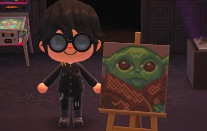 Baby Yoda Invades Animal Crossing: New Horizons For Star Wars Day