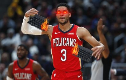 NBA Player Josh Hart Rages Out At CoD, Smashes Keyboard