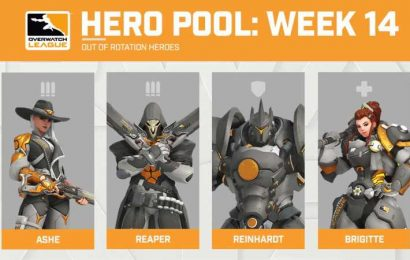 Ashe Joins Overwatch League Hero Pools For First Time