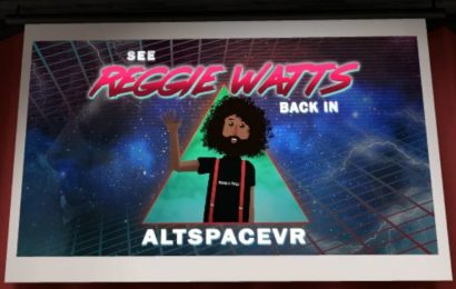 Reggie Watts Returns to AltspaceVR for an 8-week Live Show Series