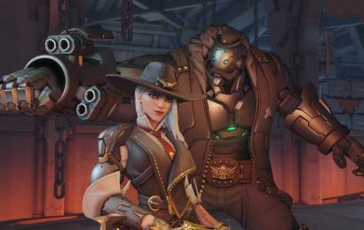 Little Red Ashe Overwatch Anniversary skin revealed