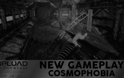 See Gameplay From Cosmophobia At The Upload VR Showcase, June 8th