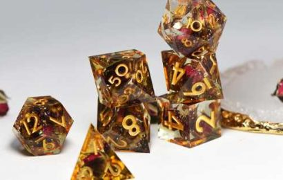 Dungeons & Dragons dice are more beautiful than ever — and a big business