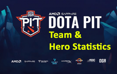 OGA Dota PIT 2020 EU: Team and hero statistics