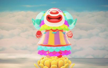 Animal Crossing fans defend Pietro, the clown folks love to hate