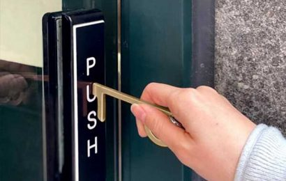 Push buttons and open doors safely with this $20 antimicrobial tool