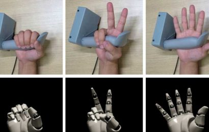 Sony Researchers Unveil Knuckles-style Prototype VR Controller with Full Hand Tracking – Road to VR