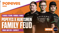 Popeyes Signs Jersey Sponsorship Deal With Chicago Huntsmen